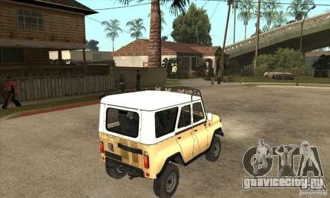 УАЗ 31514 для GTA San Andreas вид справа