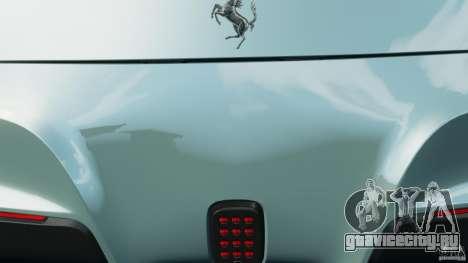 Ferrari F12 Berlinetta 2013 [EPM] для GTA 4 вид снизу