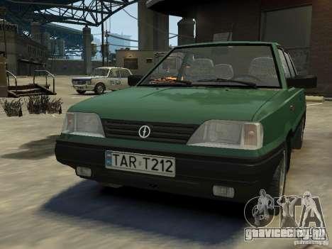 FSO Polonez для GTA 4 вид слева