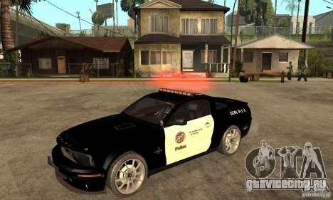 Shelby GT500KR Edition POLICE для GTA San Andreas