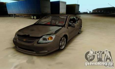 Chevrolet Cobalt SS для GTA San Andreas вид сзади