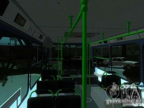 ЛиАЗ 5256-25 для GTA San Andreas вид сверху