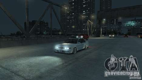 Mitsubishi Galant Stance для GTA 4 вид сзади