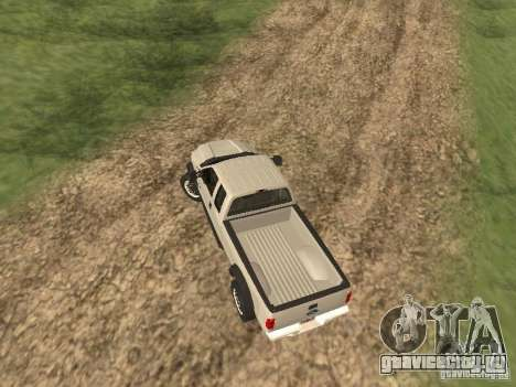 Ford Super Duty F-550 для GTA San Andreas вид сзади