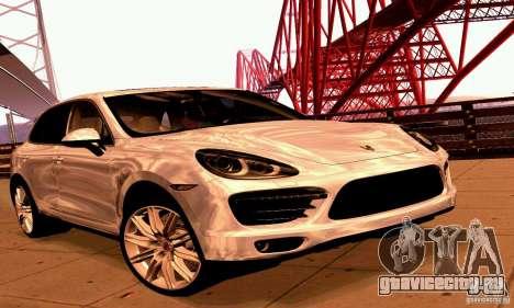 Porsche Cayenne Turbo 958 2011 для GTA San Andreas
