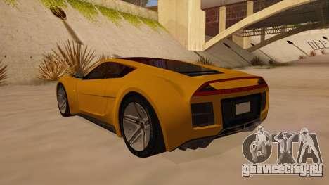 Saleen S5S Raptor 2010 для GTA San Andreas вид сзади слева