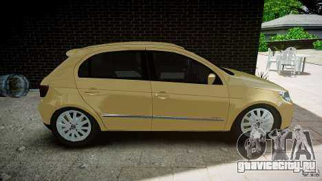 Volkswagen Gol 1.6 Power 2009 для GTA 4 вид слева