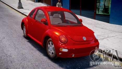 Volkswagen New Beetle 2003 для GTA 4 вид справа