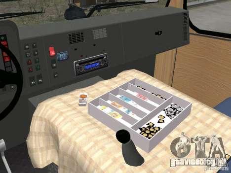 БАЗ-А079.14 Эталон для GTA 4 вид изнутри