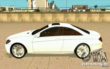 Mercedes Benz CL 500 для GTA San Andreas вид слева