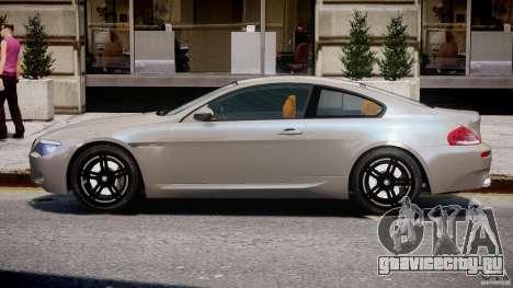 BMW M6 G-Power Hurricane для GTA 4 вид сзади слева