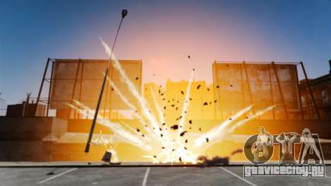 Большие и реалистичные взрывы для GTA 4