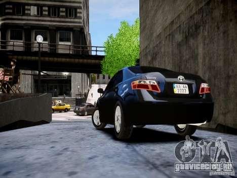 Toyota Camry для GTA 4 вид слева