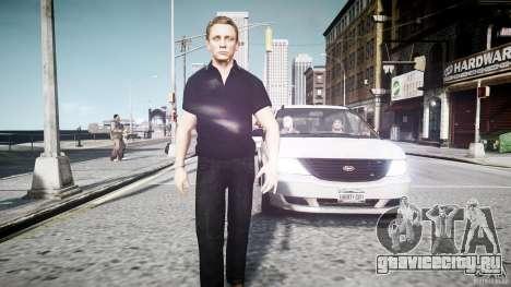 Скин Джеймса Бонда для GTA 4