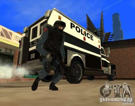 Los Angeles S.W.A.T. Skin для GTA San Andreas четвёртый скриншот