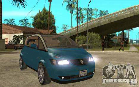 Renault Avantime Mild Tuning для GTA San Andreas вид сзади
