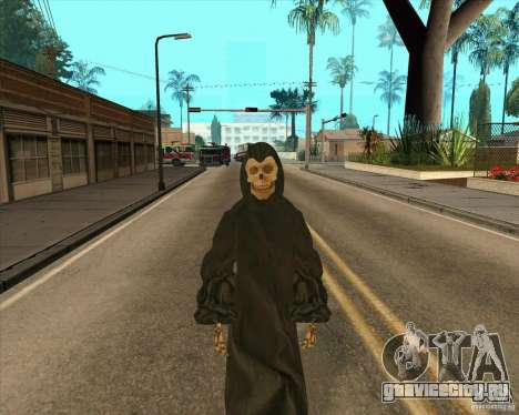 Смерть с косой для GTA San Andreas