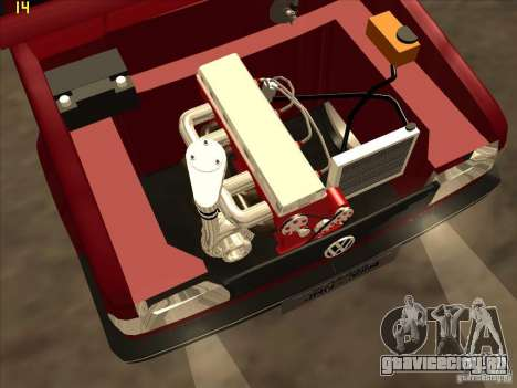 Volkswagen Saveiro Summer для GTA San Andreas вид сбоку