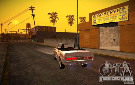 ENBSeries v1.0 By ГАЗелист для GTA San Andreas шестой скриншот