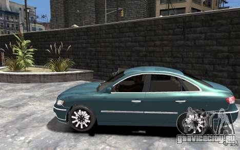 Hyundai Azera 2008 для GTA 4 вид слева