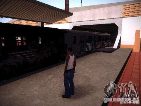 Поезд из GTA IV для GTA San Andreas вид слева