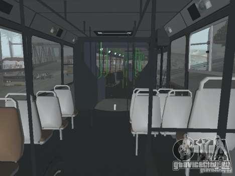 Прицеп для ЛиАЗ 6212 для GTA San Andreas вид сбоку