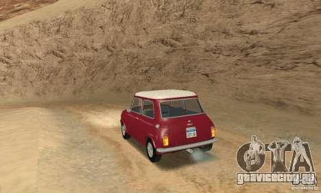 Mini Cooper S для GTA San Andreas вид слева