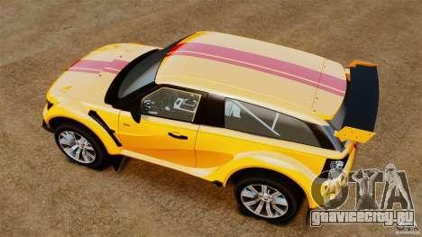 Bowler EXR S 2012 для GTA 4 вид справа