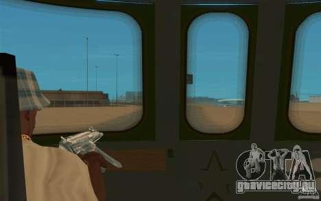New Graffity Train для GTA San Andreas вид справа