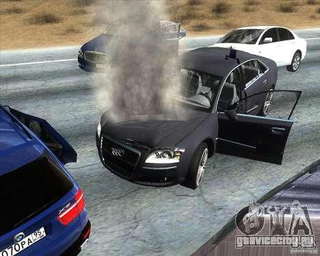 Audi A8L W12 для GTA San Andreas вид справа