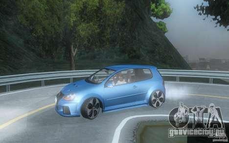 VolksWagen Golf GTI W12 TT Black Revel для GTA San Andreas вид слева