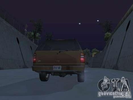 Chevrolet Suburban 2003 для GTA San Andreas двигатель