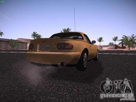Mazda MX-5 1997 для GTA San Andreas вид справа