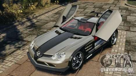 Mercedes-Benz SLR Volcano 2008 Hamann v1.0 для GTA 4 вид сбоку