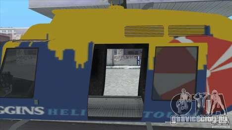 GTA IV News Maverick для GTA San Andreas вид справа