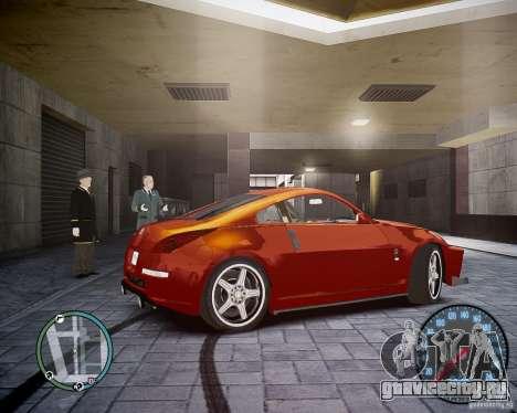 Nissan 350Z Z33 для GTA 4 вид справа