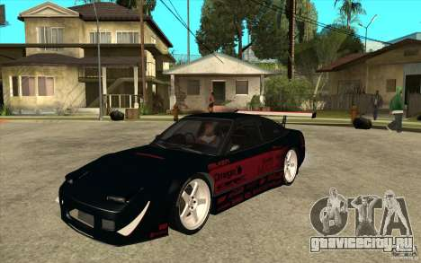 Nissan 180SX - Koguchi Power для GTA San Andreas