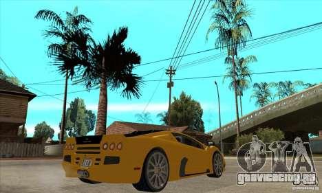 SSC Ultimate Aero FM3 version для GTA San Andreas вид справа