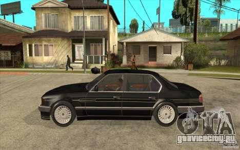 BMW E32 7-er Alpina B12 для GTA San Andreas вид сзади слева