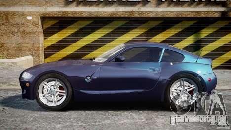 BMW Z4 V3.0 Tunable для GTA 4 вид слева