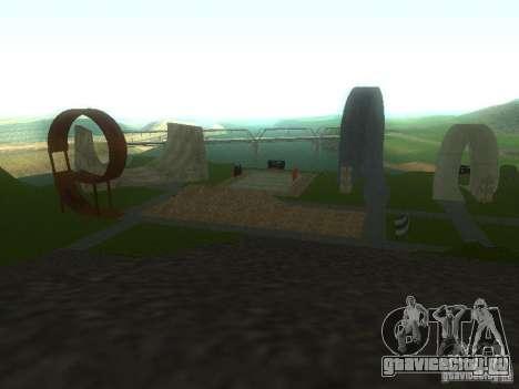 Парк для екстрималов для GTA San Andreas второй скриншот