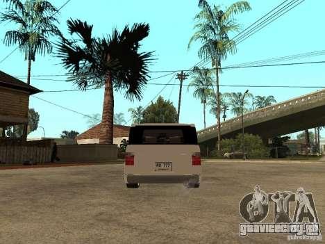 Honda Element для GTA San Andreas вид сзади слева