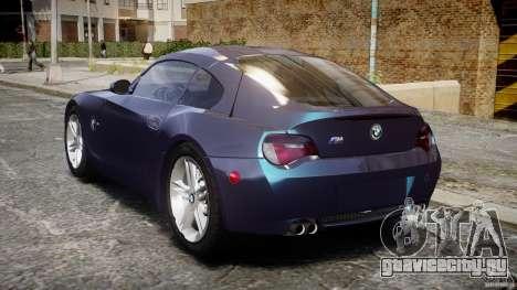 BMW Z4 V3.0 Tunable для GTA 4 вид сзади слева
