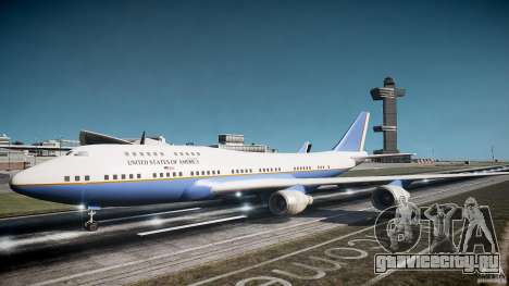 Air Force One v1.0 для GTA 4 вид слева
