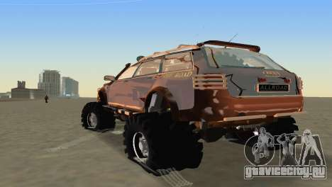 Audi Allroad Offroader для GTA Vice City вид справа