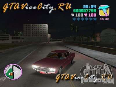 Ford AMC Matador для GTA Vice City