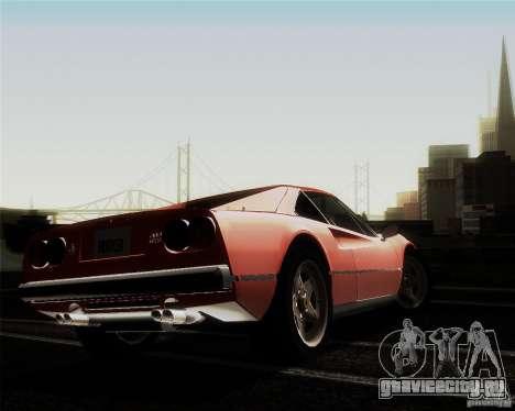 Ferrari 308 GTS Quattrovalvole для GTA San Andreas вид сбоку