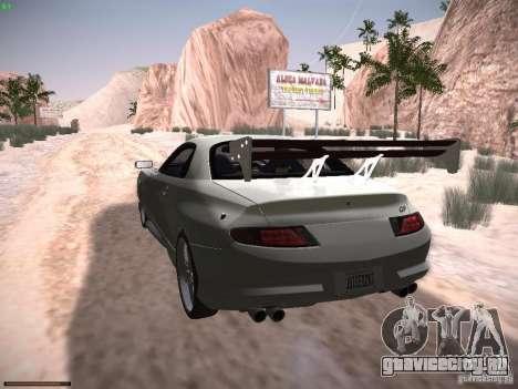 Mitsubishi FTO GP Veilside для GTA San Andreas вид сзади слева