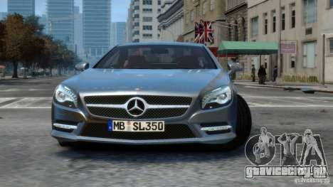 Mercedes-Benz SL 350 2013 v1.0 для GTA 4 вид слева