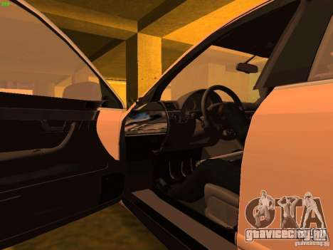 Audi S4 OEM для GTA San Andreas вид сверху